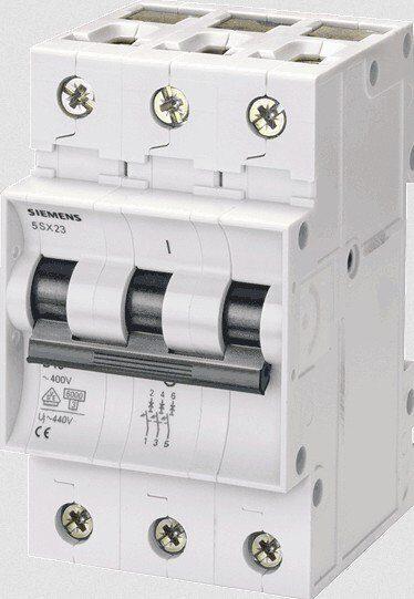 Выключатель автоматический 3Р 16А 6кА С SIEMENS, фото