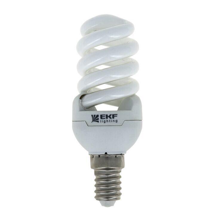 Фото - Лампа энергосб.FS-спираль 7W Е14 (2700К) 10000h (R-39)