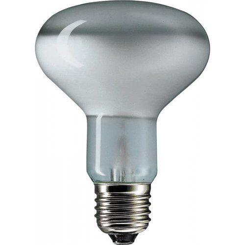 Фото - лампа рефлекторная R80 60W E27 FR (филипс зеркальная) /25/