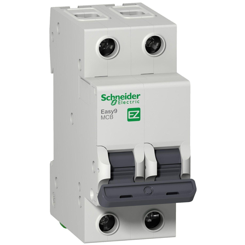 Фото - Выключатель автоматический 2Р 16А 4,5кА С Schneider Electric Easy9